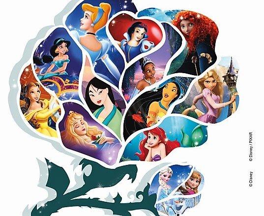 Sogno e Avventura. 80 anni di principesse nell'animazione Disney - Locandina
