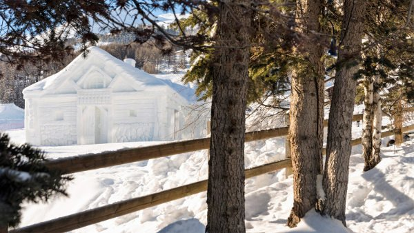 Chalet di neve a Livigno