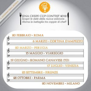 SINA Chefs' Cup Contest 2018