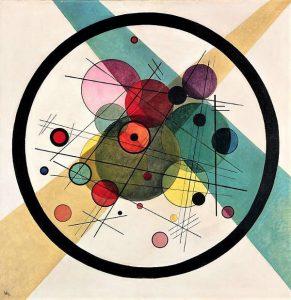 Vasily Kandinsky - Cerchi in un cerchio, 1923-1