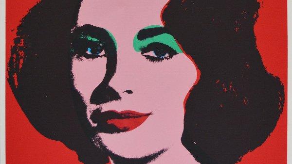 Andy Warhol ROMA_Liz